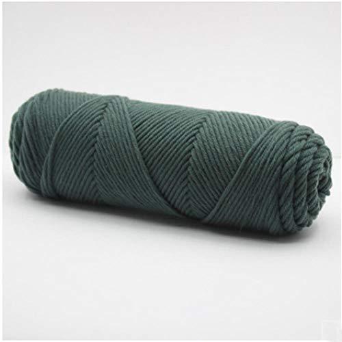 3 Unids/Lote Hilo de Algodón de Leche de Seda Hilo Grueso para Tejer A Mano Bebé Lana Crochet Bufanda Abrigo Suéter Tejido Hilo, 12