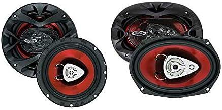 """2) BOSS CH6520 6.5"""" 250W Car Speakers + 2) BOSS CH6930 6x9"""" 400W Car Speakers photo"""
