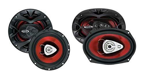 "2) BOSS CH6520 6.5"" 250W Car Speakers + 2) BOSS CH6930 6x9"" 400W Car Speakers"