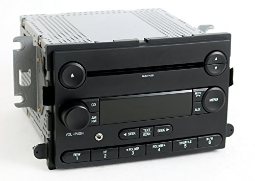 1 Factory Radio AM FM CD Player w Aux Input Compatible With 2007 Ford Focus 7S4T-18C869-AB