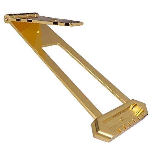 CBLD Feine Qualität 6 String Jazz Archtop-Gitarre Trapeze Tailpiece Brücke Musikinstrumententeile