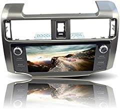 Quad Core Android 8.1 GPS Navigation Autoradio Stereo Radio Multimedia Player WiFi Bluetooth for Toyota 4Runner 09-19, Supports Steering Wheel Control, 9in HD Capacitive Touch Screen Head Unit, Gray