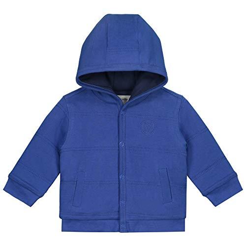 Prénatal Baby Jungen Sweatjacke mit Kapuze Baumwolle Blau Größe 56