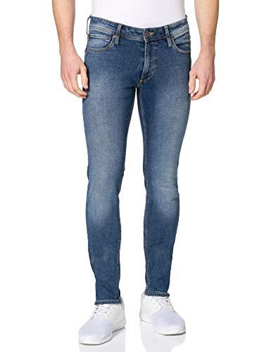 Jack & Jones JJILIAM Jjoriginal NA 033 Jeans, Bleu Denim, 33W x 34L Homme