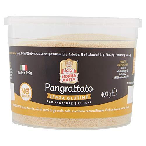 Nonna Anita Pangrattato senza Glutine, Multicolore, 0.4 Gr