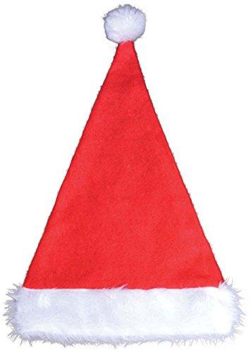 Santa Hat + Fur Trim