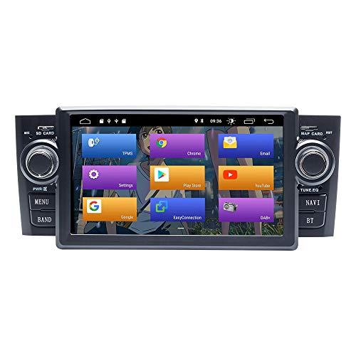 BOOYES per Fiat Grande Punto Linea 2007-2012 Android 10.0 Double DIN 7' Car Multimedia Navigazione GPS Auto Radio Stereo Auto Auto Play TPMS OBD 4G WiFi Dab SWC