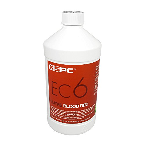 XSPC XS-EC6-RDRefrigerante no conductivo, Sangre Rojo
