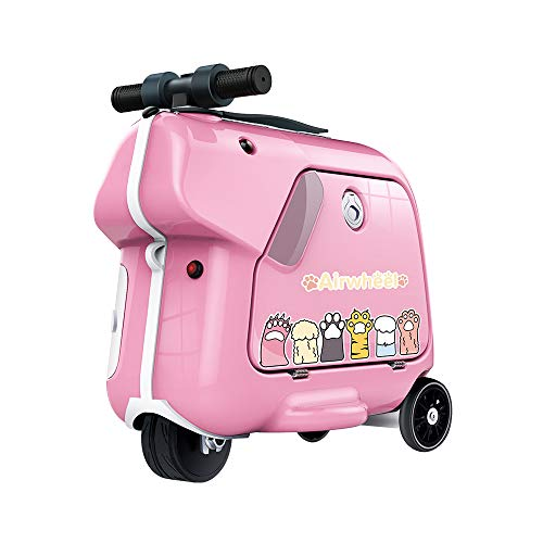 Airwheel SQ3 Kids Electric Luggage Rideable Children's Trolley Suitcase (Pink)