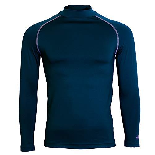 Rhino sous-vêtement Unisexe pour Jeunes L/S, Unisexe - Adolescents, TRM-12, Bleu Marine, LY/XLY
