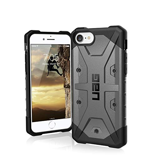 Urban Armor Gear UAG Designed for iPhone SE (2020)/iPhone 8/iPhone 7 [4.7-inch] Pathfinder Case Impact Resistant Military Drop Tested Protective Cover, Silver