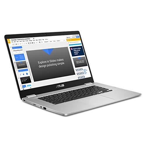 15.6-inch ASUS C523 HD 180 Degree Hinge Intel Dual-Core Celeron Chromebook (2018)
