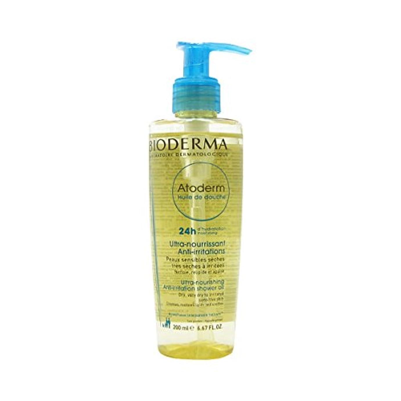補償二十神のBioderma - Atoderm Huile de Douche Ultra-Nourishing Anti-Irritation Shower Oil (200 ml) [並行輸入品]