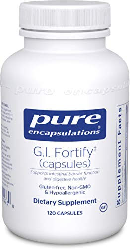 Pure Encapsulations - G.I. Fortify (Capsules) - Supports G.I. Function, Motility and Detoxification - 120 Capsules