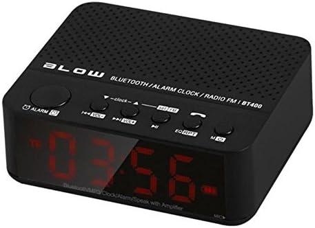 Blow - Bt400 Bluetooth 2.1 Altavoces portátiles del Altavoz 3w PM Alarma del Reloj del Jugador FM mp3 wma microsd 1500mah Radio Reloj de Tiempo de ...