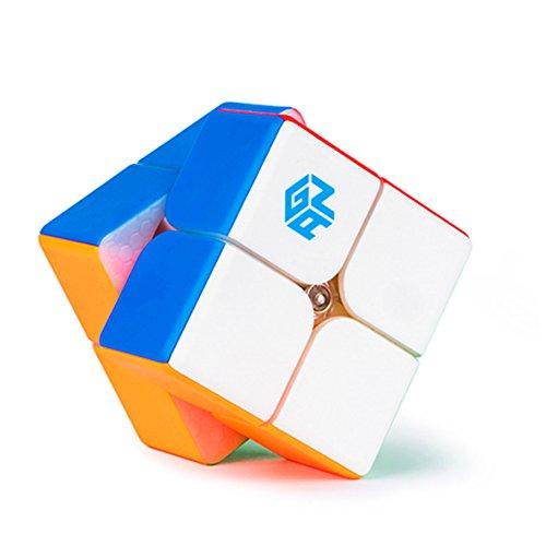 CuberSpeed Gan 249 2x2 stickerless Gan 249 V2 Speed Cube