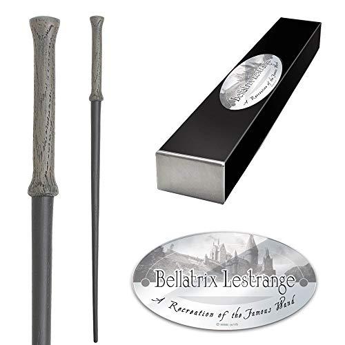 Varita de Harry Potter Bellatrix Lestrange. Colección Noble