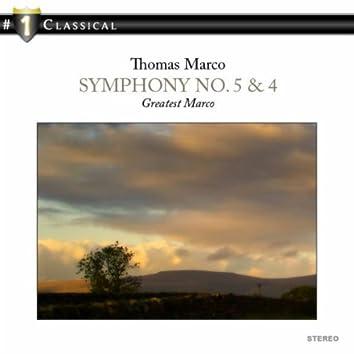 Symphony No. 5 & 4 - Greatest Marco