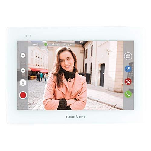 Eci Elettroforniture Came - Videoportero manos libres Bpt Came WiFi XTS 7 pulgadas blanco 840CH-0030