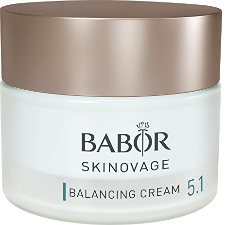 BABOR SKINOVAGE Balancing Cream, Gesichtscreme für Mischhaut, mattierende Feuchtigkeitspflege, trockene und fettige Haut, ebenmäßiger Teint, 1 x 50 ml