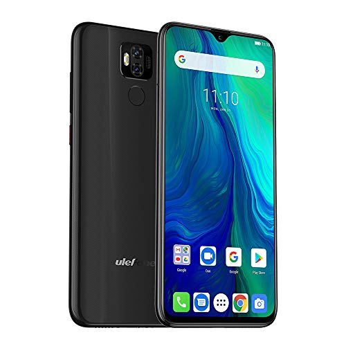 Ulefone Power 6 4G Smartphones Ohne Vertrag,Android 9.0 6.3