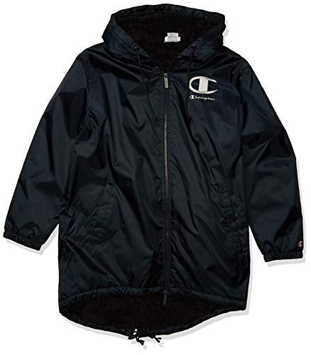 Champion LIFE Men's Sherpa Lined Stadium Jacket, Black, Medium