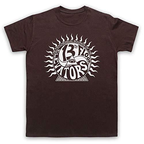 The 13Th Floor Elevators Psychedelic Rock Men T-Shirt Brown XXL