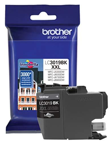 Brother LC-3019BK Cartucho de Tinta de Alto Rendimiento, Negro, 1 Paquete en Embalaje de Venta al...