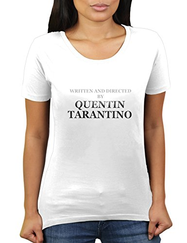 KaterLikoli Written and Directed by Quentin Tarantino - Camiseta para mujer