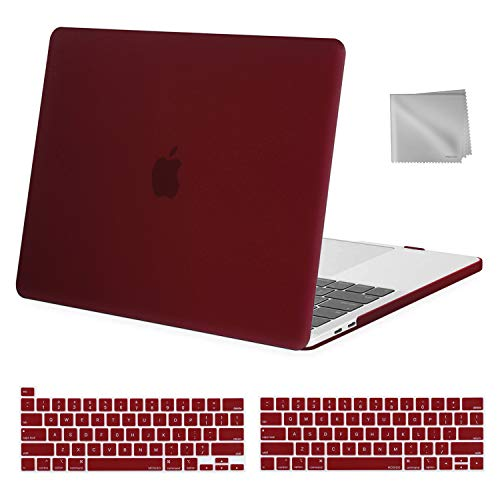 MOSISO MacBook Pro 13 inch Case 2020 2019 2018 2017 2016 Release A2289 A2251 A2159 A1989 A1706 A1708, Plastic Hard Shell&Keyboard Cover&Wipe Cloth...