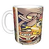 Spongebob bella tazza da caffè idea regalo bella donna boss signora amica, sorella, mamma, figlia, fidanzata amante della moda carino ragazza bella festa del Ringraziamento, Natale e compleanno