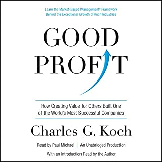 Good Profit audiobook cover art