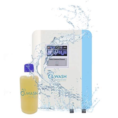 O3Wash Generador de Ozono Doméstico para Lavadora, Limpieza Ropa y hogar sin detergentes