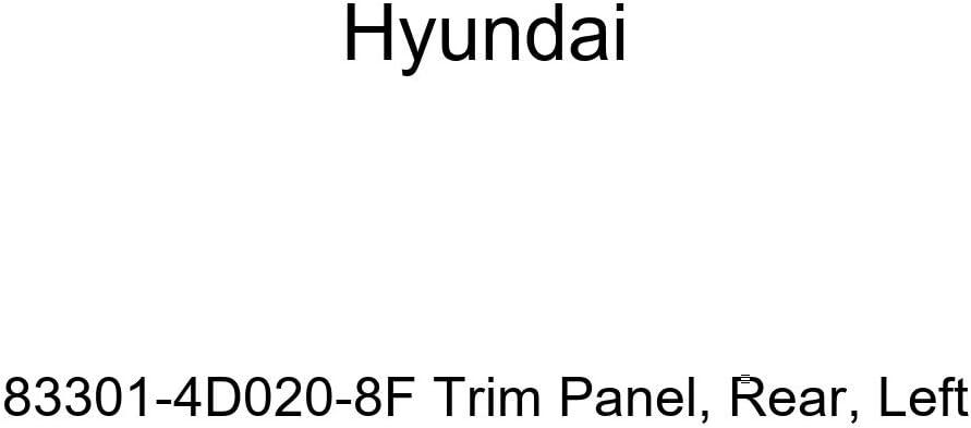 New item Genuine Hyundai 83301-4D020-8F Fees free!! Rear Panel Trim Left-Hand