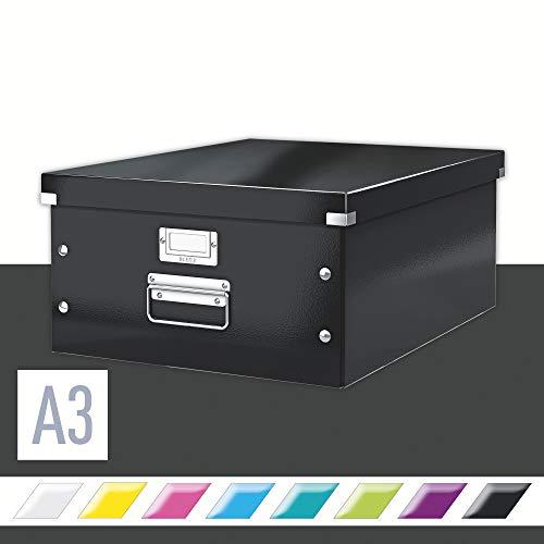 Leitz Click & Store Aufbewahrungs- und Transportbox, A4, schwarz, 60440095