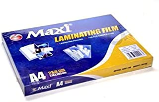 MAXI LAMINATING FILM-A4 PACKING:100PCS/PKT 216X303MM