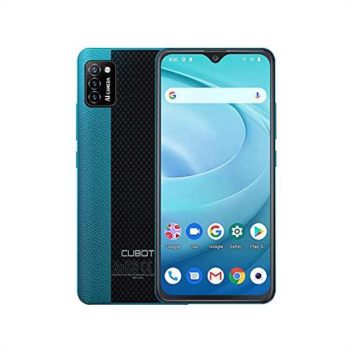 CUBOT Smartphone senza contratto, cellulare 5.5 ¨ 4G, Quad Core, Android 10, Dual SIM. Verde