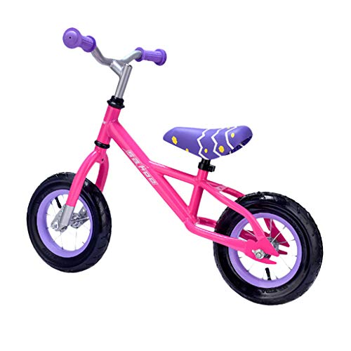 WEI MOLO@ 210 Inch Childs Lightweight Mini Removable Bike Small Protable Without Pedal Bike Pink
