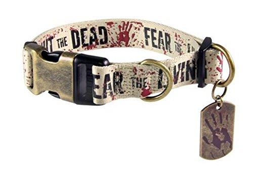 Unbekannt The Walking Dead Fight Dead, Fear Living Pet Collar-L