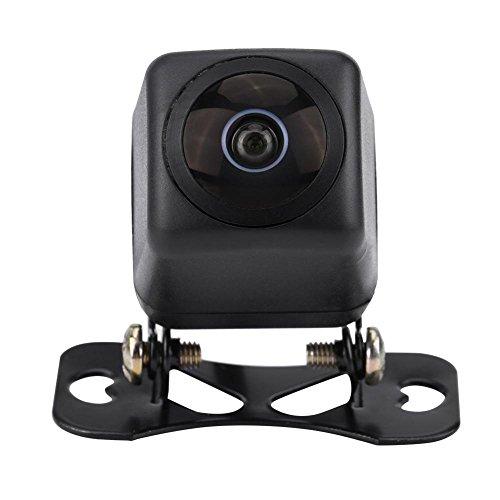 KIMISS 170° Gran Angular Cámara de visión trasera del coche [HD Lente de ojo de pez visión nocturna], Impermeable Cámara de visión trasera de reversa del coche