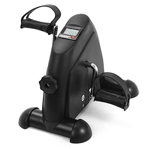 Bicicletas de ejercicio para uso doméstico, caminadora mini con pedales, monitor LCD, bicicleta estática