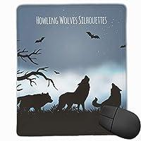 三匹の狼 マウスパッド ゲーミングマウスパッド ラップトップマット pcマウスパッド リストレスト ラバーマット 滑り止め 耐久性 高級感 25*30