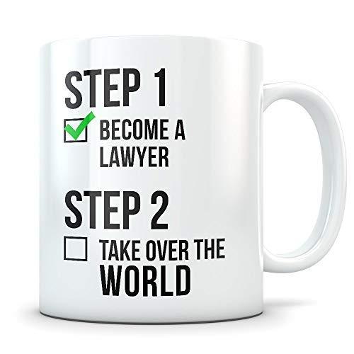 Facultad de Derecho Regalo de graduación Abogado Taza de abogado de graduación Regalo de abogado Estudiante de derecho Graduación de derecho Licenciados en derecho Regalo de Lsat Futuro abogad