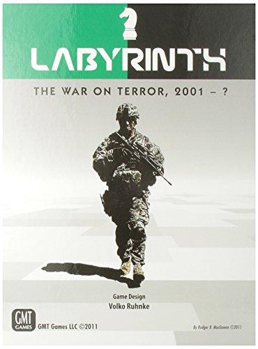 Labyrinth: The War On Terror - Juego de Tablero, 2 Jugadores (GMT Games GMT1012) (versión en inglés)