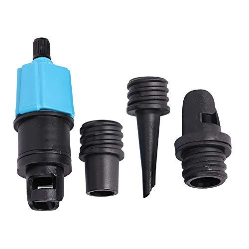 Zwinner Adaptador de Bomba Adaptador de Bomba de Sup Inflable Adaptador de válvula de Aire de Barco Inflable Canoa para Tabla de Canoa