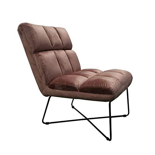 Hodge and Hodge Dusky Pink Samt Slipper Stuhl gepolstert mit Plüsch Samt Stoff Dieser wunderschöne volle volle Stuhl ist ideal zum Entspannen zu Hause, Wohnzimmer, Schlafzimmer, Esszimmer oder Büro