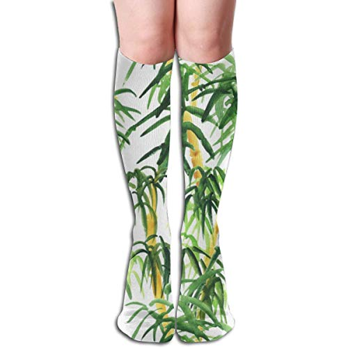 Generic Bambus Damen Tube Kniestrümpfe Cosplay Socken 50cm