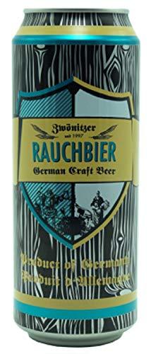 Deutsche Bierspezialitäten in der Dose (24 x 0,5l Zwönitzer Rauchbier)