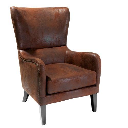 Christopher Knight Home Lorenzo Club Chair, Brown, Dark Brown