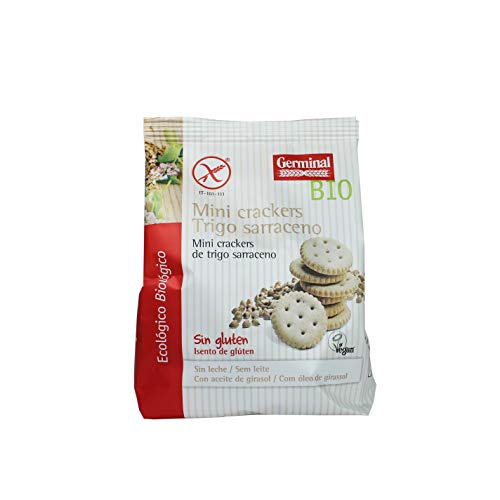 Germinal Mini Cracker de Trigo Sarraceno sin Gluten, 100g